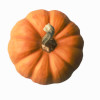 orange pumpkin for colorful healthy Thanksgiving meal