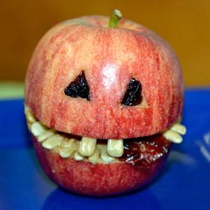 Food Art -The Chompity Apple