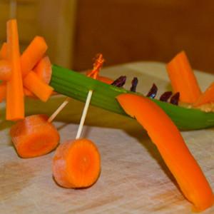 Flying Veggies -Making Food Fun