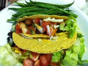 So Easy Bean Tacos!