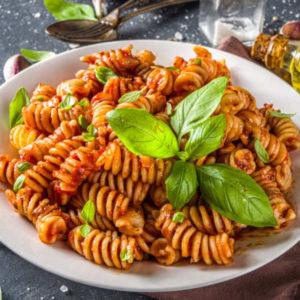 Tomato Basil Quinoa Pasta