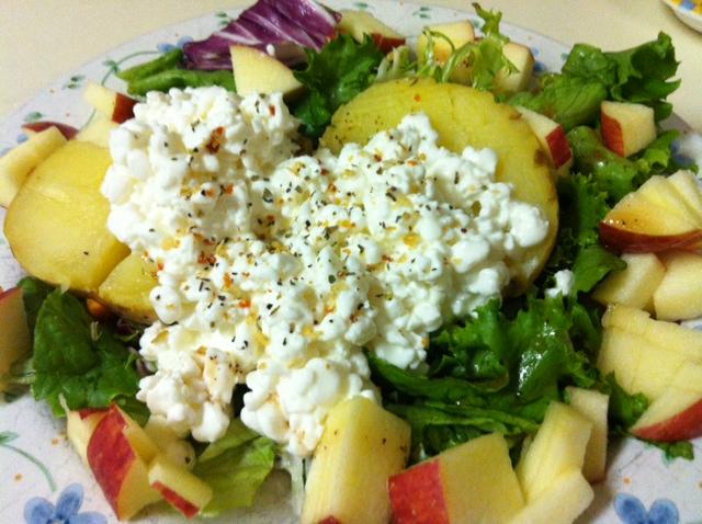 Pat's Baked Potato Salad Recipe — Dishmaps