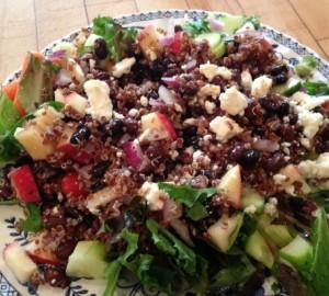 Easy & Yummy Chopped Quinoa Salad