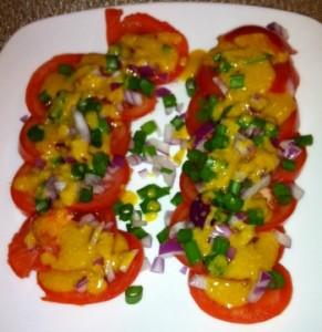 Beefsteak Tomato Appetizer