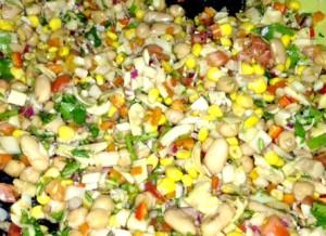 Marian's Veggie & Bean Salad