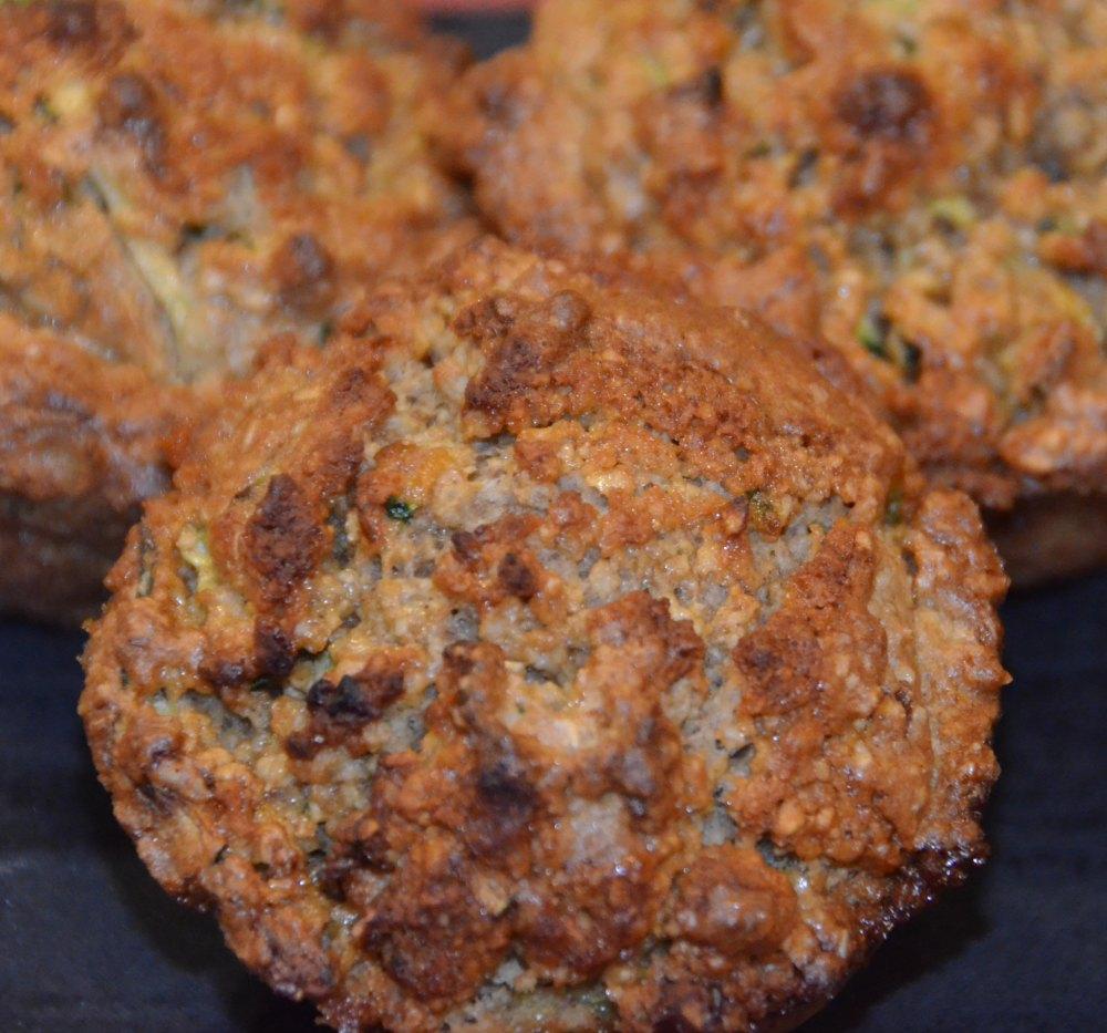 gluten free zucchini muffin