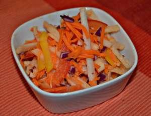 2 Tasty and Colorful Jicama Salads