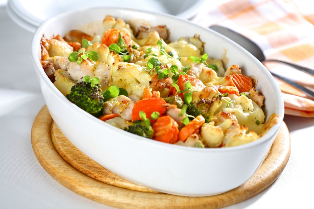 Easy Vegetable Chicken Casserole Melissa S Healthy Living