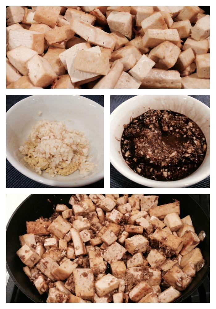 Tofu steps