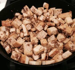Ginger Honey Tofu