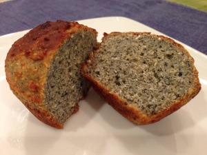 Gluten Free Blue Corn Bread Muffins