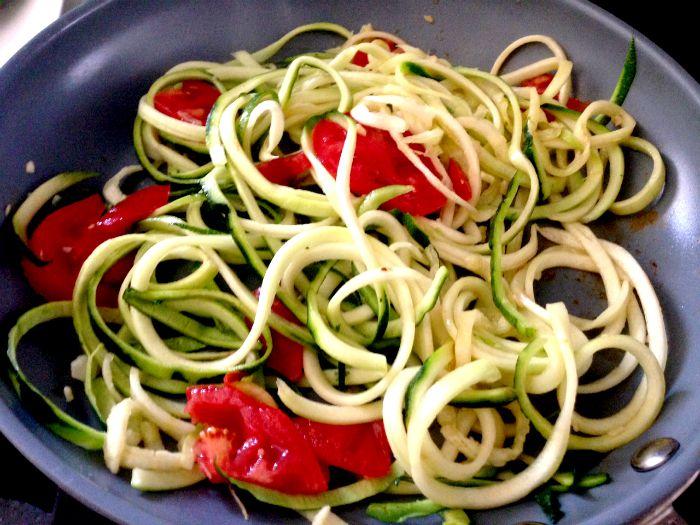 zucchini noodles 2