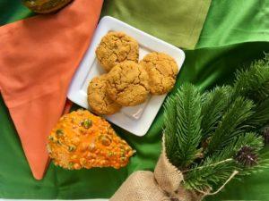Sweet Potato Oat Gluten-Free Biscuits