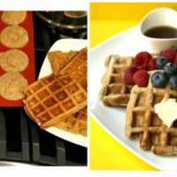 tiger nut flour pancakes and waffles