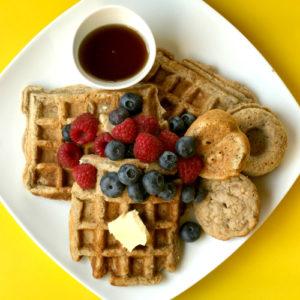 Tiger Nut Flour Pancakes, Waffles & Muffin Bake-Fest!
