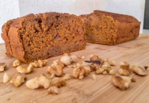 Tasty Whole Grain Pumpkin Bread