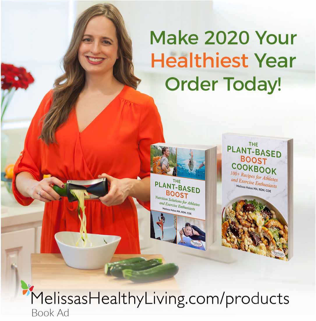plant-based nutrition books and cookbook for new years resolution
