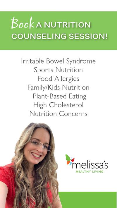 melissa halas dietitian nutrition counseling