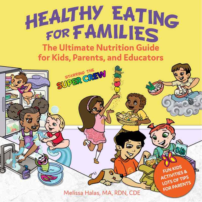 Healthy Eating for families book SKN